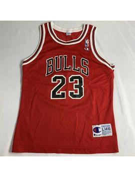 Vintage Michael Jordan Jersey Chicago Bulls #23 Champion Nba Youth L 14 16 by Champion