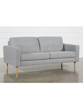 Angie Light Grey Sofa by Living Spaces
