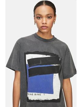 Lili Tee Painting   Washed Black by Anine Bing
