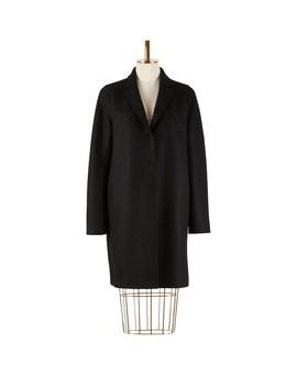 Cocoon Coat Pressed Wool by Harris Wharf London