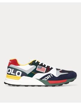 Trackster 100 Wool Sneaker by Ralph Lauren