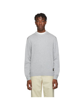 Grey Lang Sweater by Tiger Of Sweden Jeans