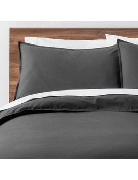Easy Care Solid Duvet Cover Set   Made By Design™ by Shop Collections