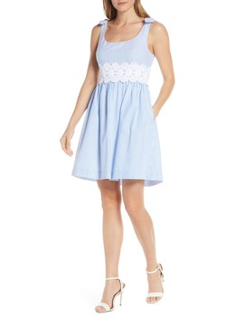 Tessa Sleeveless Fit & Flare Dress by Lilly Pulitzer®