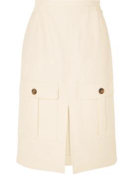 斜纹布半身裙 by Chloé
