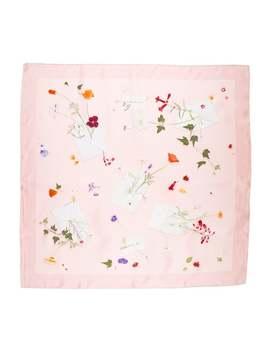Des Fleurs Pour Le Dire Silk Scarf by Hermès