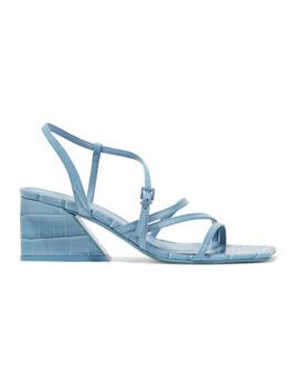 Kelise 仿鳄鱼纹皮革凉鞋 by Mercedes Castillo