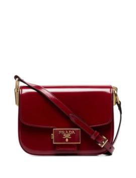 Pattina Patent Shoulder Bag by Prada