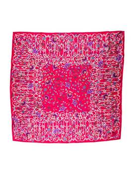 Printed Silk Scarf W/ Tags by Liberty Of London