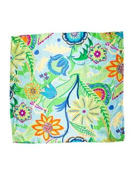 Floral Silk Scarf W/ Tags by Ralph Lauren Collection