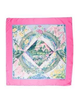 Giverny Silk Scarf by Hermès