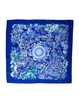 Au Coeur De La Vie Silk Scarf by Hermès