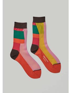 Montage Socks by Issey Miyake