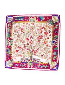 Fantaisies Indiennes Silk Scarf by Hermès