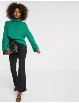 Liquorish High Neck Oversized Sweater by Liquorish