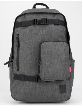 nixon-smith-charcoal-backpack by nixon