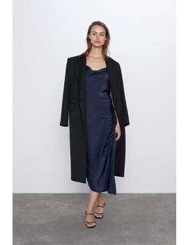 Ruched Slip Dress by Zara