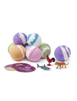 Kid's Magic Bath Fizzies  Set Of 5 by Uncommon Goods
