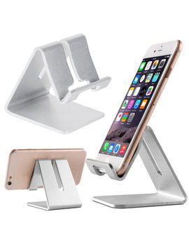 Universal Cell Phone Tablet Desktop Stand Desk Holder Mount Cradle Aluminium by Universalwant