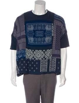 Graphic Print Short Sleeve T Shirt by Kapital