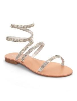 Sparkle Wrap Up Sandals by Venus