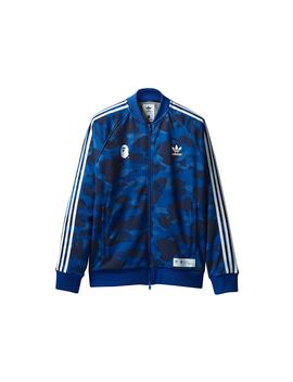 Bape X Adidas Adicolor Track Top Blue by Stock X
