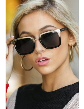 Quay X Jaclyn Hill Upgrade Gold And Black Sunglasses by Quay Australia