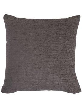 Wilko Charcoal Chenille Cushion 43 X 43cm Wilko Charcoal Chenille Cushion 43 X 43cm by Wilko