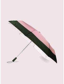 Colorblock Travel Umbrella by Kate Spade