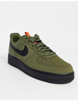 Nike Air Force 1 '07 Sneakers In Khaki Bq4326 200 by Nike