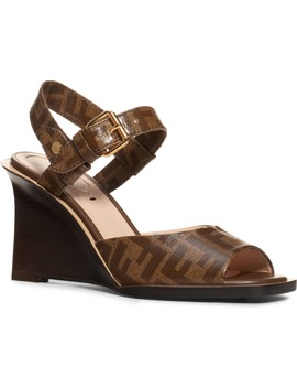 Wedge Sandal by Fendi