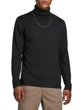 Turtleneck Cotton Blend Sweater by Jack & Jones