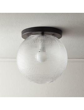 Halo Globe Flush Mount Light by Crate&Barrel
