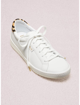 Keds X Kate Spade New York Ace Leather & Leopard Sneakers by Kate Spade