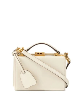 The Grace Mini Box Bag by Mark Cross