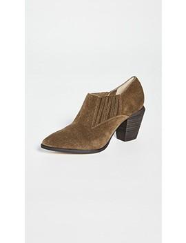 Hertha Block Heel Booties by Splendid
