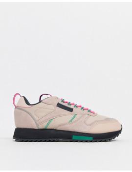Reebok Classic Trail Shoe In Pink by Reebok