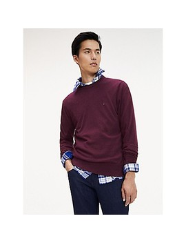 Cotton Cashmere Sweater by Tommy Hilfiger