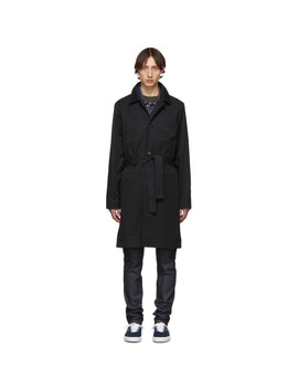 Black Germano Trench Coat by A.P.C.