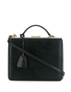 Top Handle Box Bag by Mark Cross