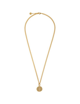 Gold Casey Necklace by A.P.C.