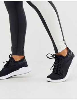 Reebok Training Freestyle Motion Trainers In Black by Reebok