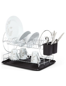 Target Chromed 2 Tier Dish Rack by Target