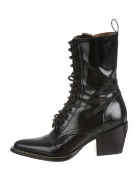 Pointed Toe Ankle Boots by Chloé