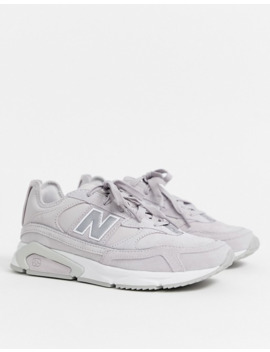 New Balance X Racer Trainers In Lilac by New Balance