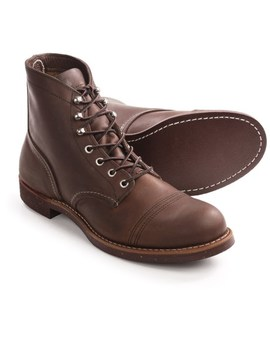 Red Wing Iron Ranger Cap Toe Boots   Factory 2nds (For Men) by Red Wing