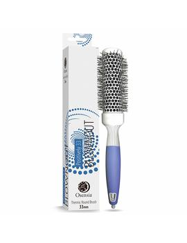 Professional Round Brush For Blow Drying – Small Ceramic Ion Thermal Barrel Brush For Sleek, Precise Heat Styling And Salon Blowout – Lightweight, Antistatic Bristle Hair Brush By Osensia (1.3 Inch) by Osensia