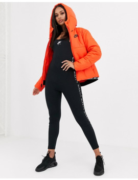 Nike Red Padded Jacket by Nike