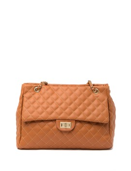Double Chain Quilted Tote Bag by Pink Haley