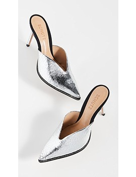 Heliconia Point Toe Mules by Schutz